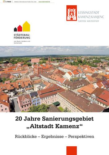 """20 Jahre Sanierungsgebiet """"Altstadt Kamenz"""""""