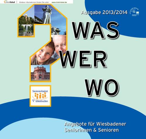 Seniorenwegweiser der Stadt Wiesbaden Ausgabe 2013/2014