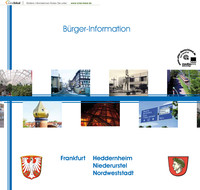 Bürger-Informationsbroschüre Frankfurt-Heddernheim