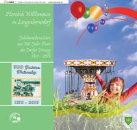 Jubiläumsbroschüre zur 700-Jahr-Feier des Dorfes Trünzig 1313-2013