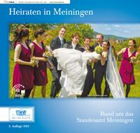Standesamtbroschüre der Stadt Meiningen 2013