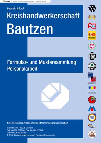 Kreishandwerkerschaft Bautzen Formular- und Mustersammlung Personalarbeit
