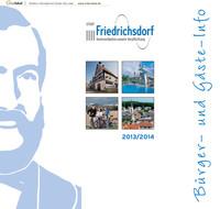 Bürger- und Gäste-Info der Stadt Friedrichsdorf 2013/2014
