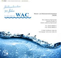 Jubiläumsbroschüre 20 Jahre WAc
