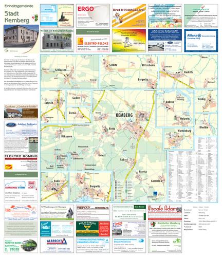 Einheitsgemeinde Stadt Kemberg - Ortsplan