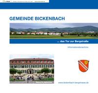 Bürger-Informationsbroschüre der Gemeinde Bickenbach