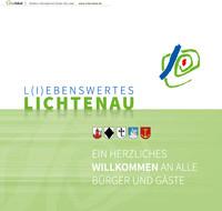 Bürgerinformationsbroschüre der Stadt Lichtenau