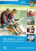 Einleger des Seniorenwegweisers für den Landkreis Neuburg-Schrobenhausen
