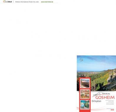 Gosheim - Ortsplan