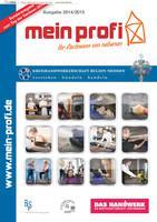 Mein Profi - Kreishandwerkerschaft Region Meissen  Ausgabe 2014/2015