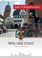 Stadt- & Bürgerbroschüre - Weil der Stadt