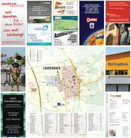 Ortsplan der Gemeinde Laudenbach
