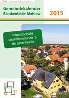 Gemeindekalender Blankenfelde-Mahlow 2015