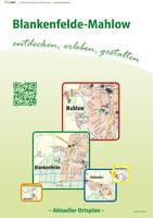 Ortsplan Blankenfelde-Mahlow