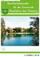 Familienkalender für die Gemeinde Neufahrn bei Freising