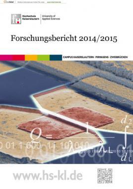 Forschungsbericht der Fachhochschule Kaiserslautern 2014 / 2015