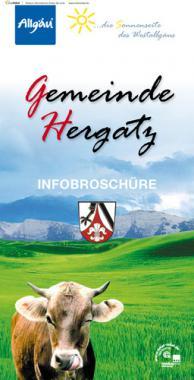 Bürger-Infomationsbroschüre der Gemeinde Hergatz