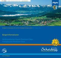 Bürgerinfomationsbroschüre für den Markt Scheidegg