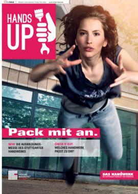 HANDS UP Pack mit an. Kreishandwerkerschaft Stuttgart