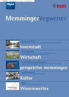 Die Informationsbroschüre Memminger Wegweiser