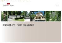 Ratgeber für den Trauerfall, Stadt Böblingen