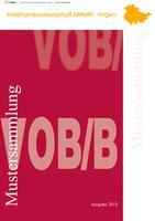 Kreishandwerkerschaft Mittelthüringen - Mustersammlung VOB/B Ausgabe 2015