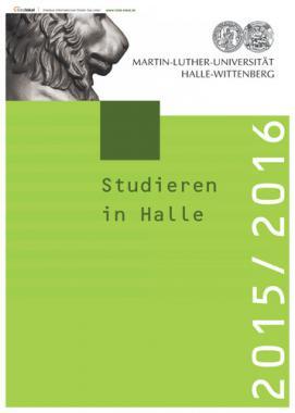Studieren in Halle 2015/2016