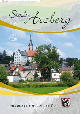 Informationsbroschüre der Stadt Arzberg