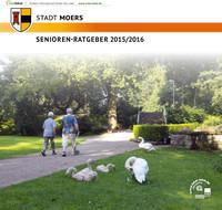 ARCHIVIERT Seniorenratgeber der Stadt Moers 2015/2016