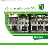 Bürgerinformationsbroschüre Gemeinde Schönwalde-Glien