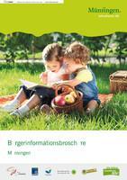 Münsingen Bürgerinformationsbroschüre