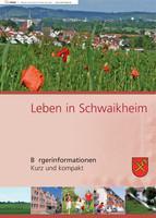 Bürgerinformationsbroschüre der Gemeinde Schwaikheim (Flipping Book)