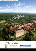 Stadtplan - Der Balkon Hohenlohes