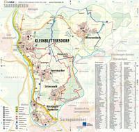 Ortsplan der Gemeinde Kleinblittersdorf
