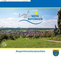 Bürgerinformationsbroschüre der Gemeinde Notzingen