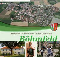 Herzlich willkommen in der Gemeinde Böhmfeld