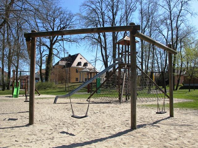 Spielplatz bleibt an Ort und Stelle