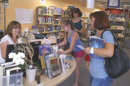 Die Stadtbücherei wird immer beliebter