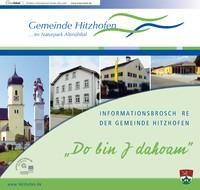 Informationsbroschüre der Gemeinde Hitzhofen