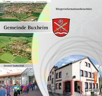 Bürgerinformationsbroschüre Gemeinde Buxheim