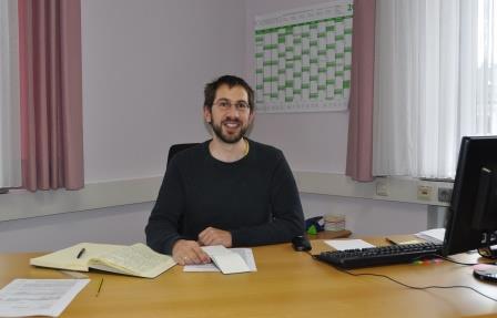 Neuer Leiter in der  Geschäftsstelle im Städtedreieck