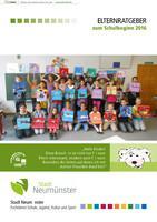 Elternratgeber zum Schulbeginn 2016 - Neumünster