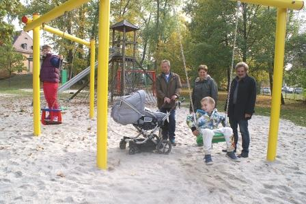 Neue Geräte für Kinderspielplätze