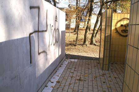Schmierereien in Teublitz entdeckt