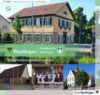 Bürgerinformationsbroschüre Reutlingen Stadtteil Betzingen