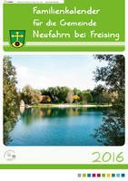 ARCHIVIERT Familienkalender für die Gemeinde Neufahrn bei Freising 2016