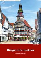 Bürger-Informationsbroschüre der Stadt Kirchheim unter Teck