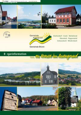 Bürger-Informationsbroschüre der Gemeinde Auengrund