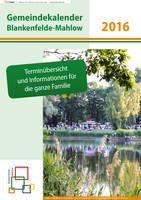 Gemeindekalender Blankenfelde-Mahlow 2016