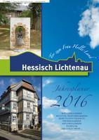 ARCHIVIERT Jahresplaner 2016 Hessisch Lichtenau